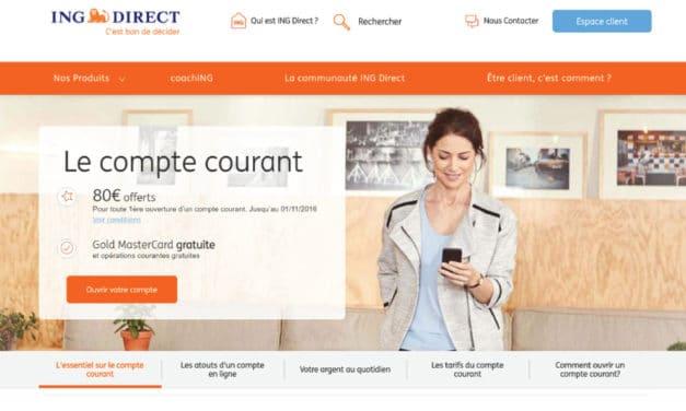 Avis ING Direct : revue de l'offre de la banque en ligne