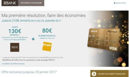 BforBank vous offre 210€ pour la nouvelle année !