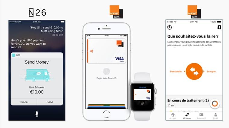 banques mobiles - fonctionnalités