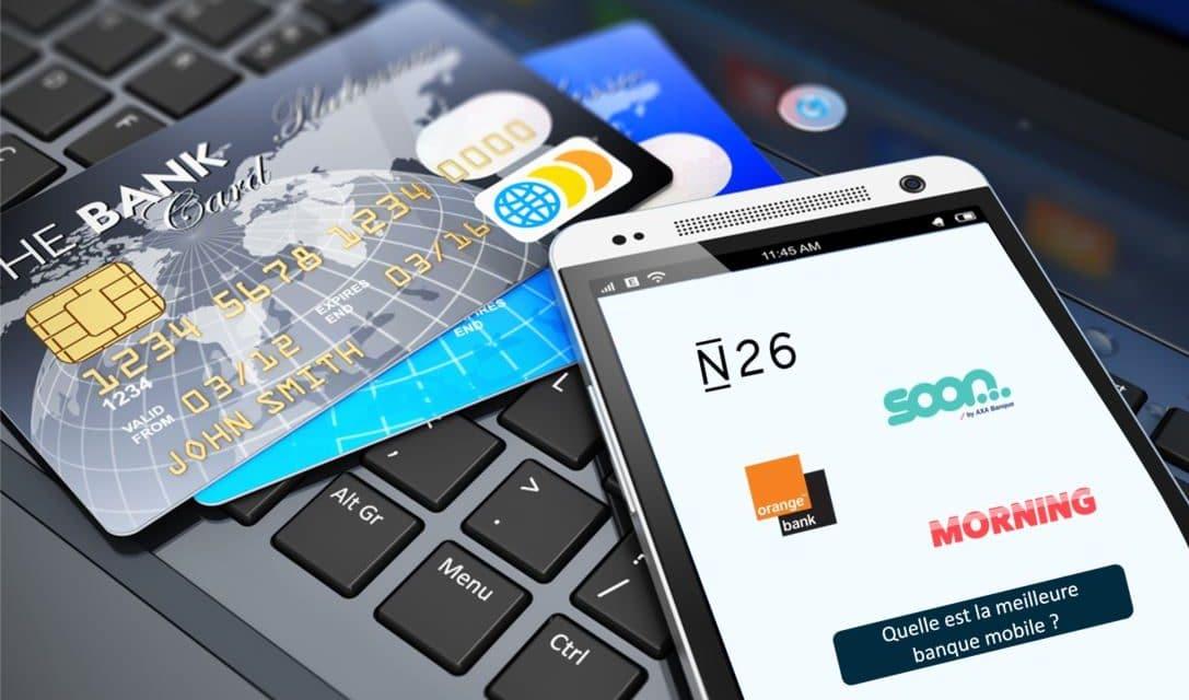 Banque mobile : comparatif détaillé des néobanques