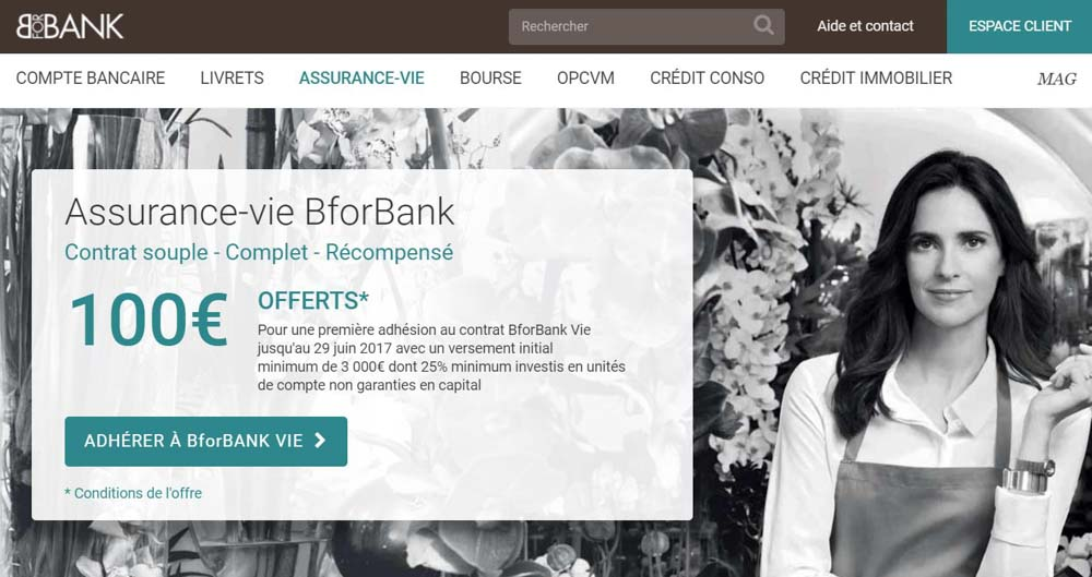 assurance vie bforbank vie d tails et avis. Black Bedroom Furniture Sets. Home Design Ideas