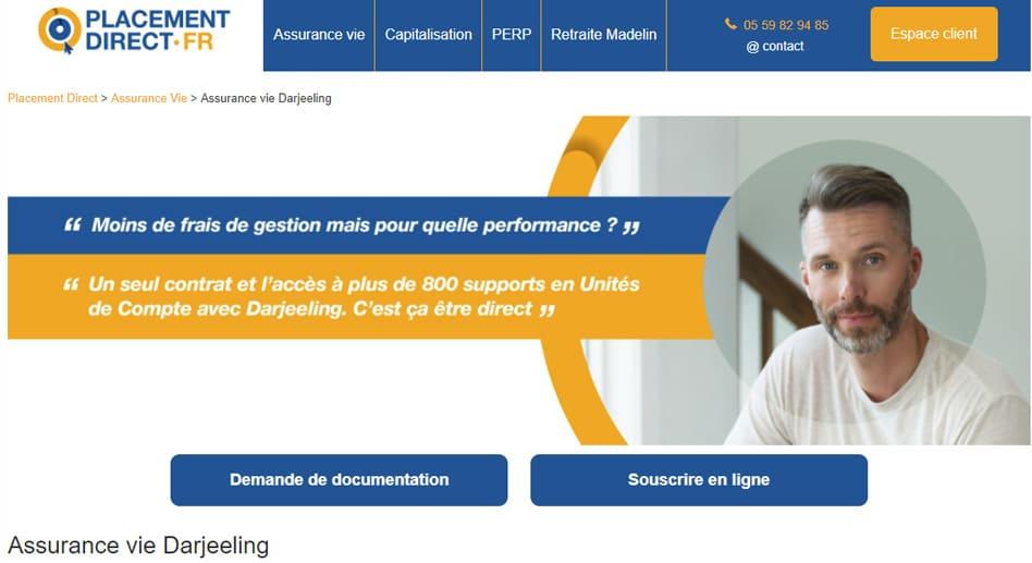 Assurance-vie DARJEELING: Détails et Avis