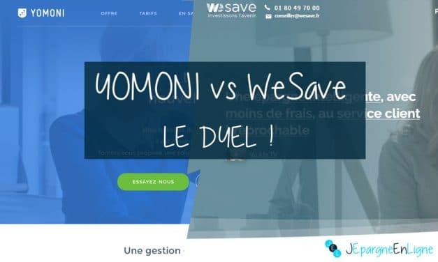 Yomoni vs WeSave : quelle assurance-vie type Robo-Advisor choisir ?