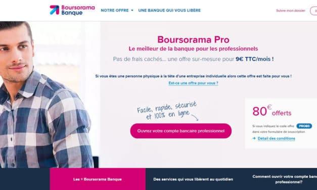 Boursorama PRO : notre avis sur ce compte professionnel en ligne