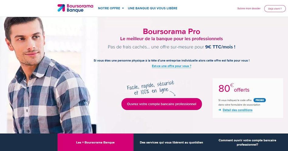 Boursorama Pro Notre Avis Sur Ce Compte Professionnel En Ligne