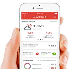 Linxo Bankin Fiduceo - agrégateur de comptes bancaires