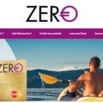 Carte Zero : notre avis sur cette carte Gold Mastercard gratuite