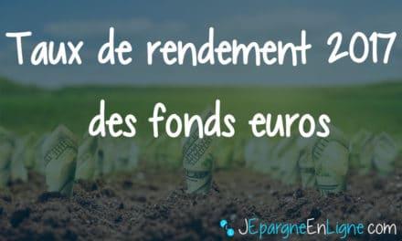 Le rendement des fonds euros encore en baisse en 2017