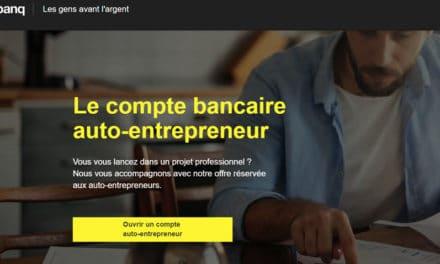 Monabanq lance son offre pour les auto-entrepreneurs