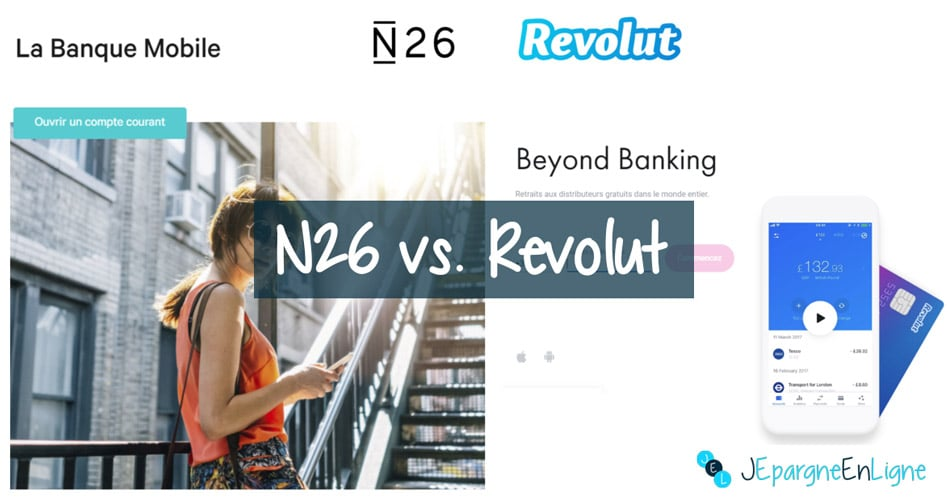 n26 vs revolut quelle banque mobile choisir. Black Bedroom Furniture Sets. Home Design Ideas