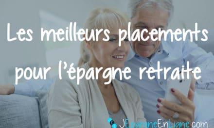 Les meilleurs placements pour la retraite