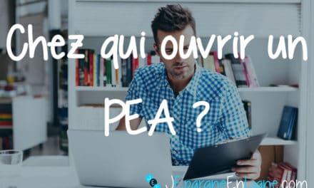 PEA : trouver et ouvrir le meilleur PEA – comparatif 2021