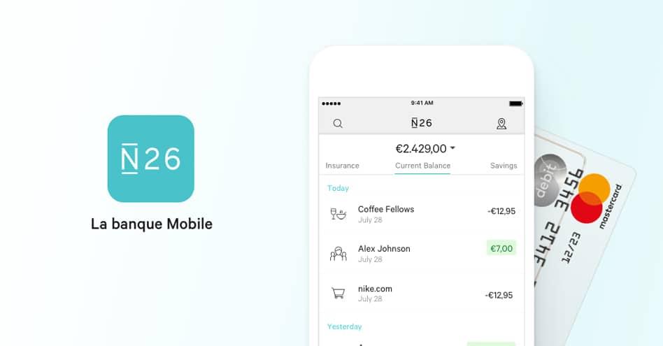 N26 : notre avis sur la néobanque qui révolutionne la banque mobile