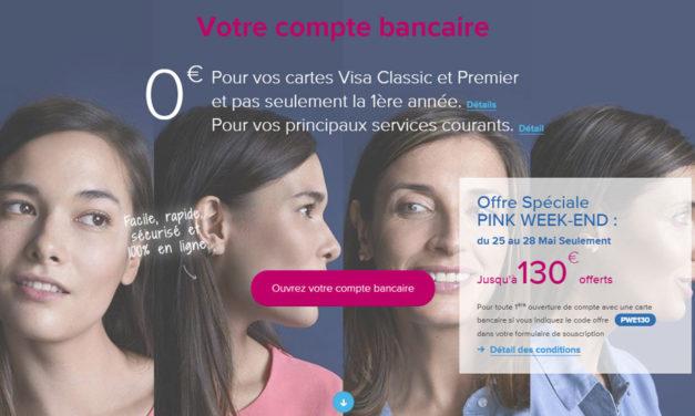 Boursorama offre exceptionnelle : 130€ offerts du 25 au 28 mai !