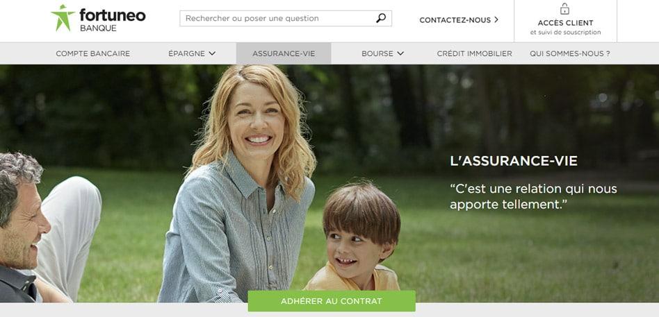 Assurance vie FORTUNEO : détail et avis