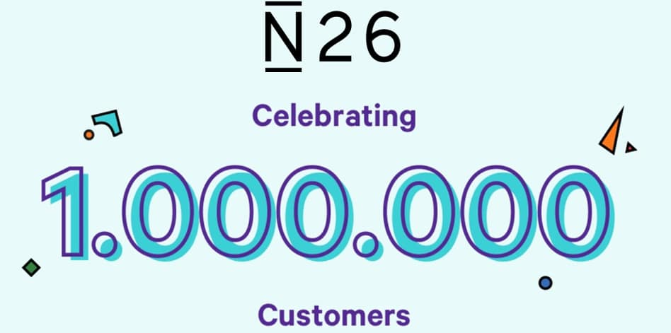 N26 franchit la barre des 1 million de clients