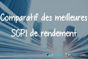 comparatid SCPI de rendement