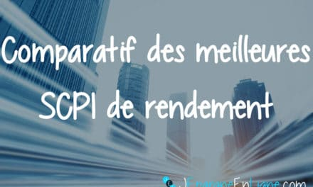 Comparatif SCPI de rendement 2018