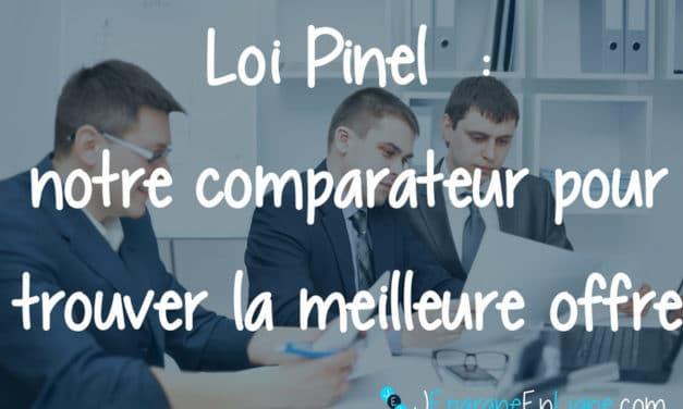 Comparateur d'investissements en Loi Pinel