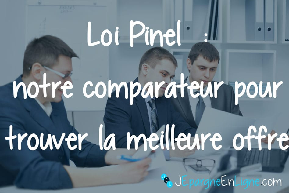 Comparateur d'investissements en Loi Pinel