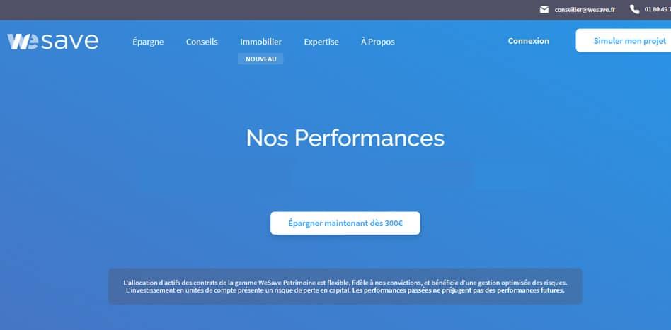 WeSave annonce ses performances pour le premier semestre 2018