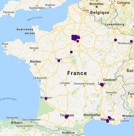 Primopierre zone geographique