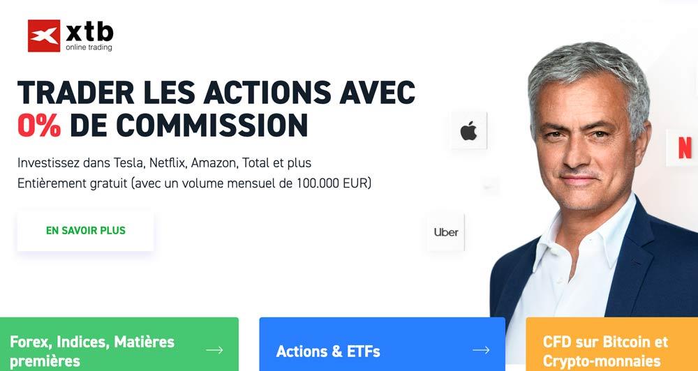 XTB : avis sur le courtier en ligne avec 0% de commission