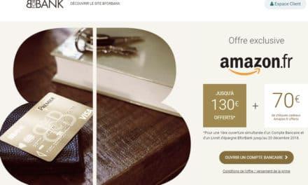 BforBank offre exceptionnelle : jusqu'à 200€ offerts