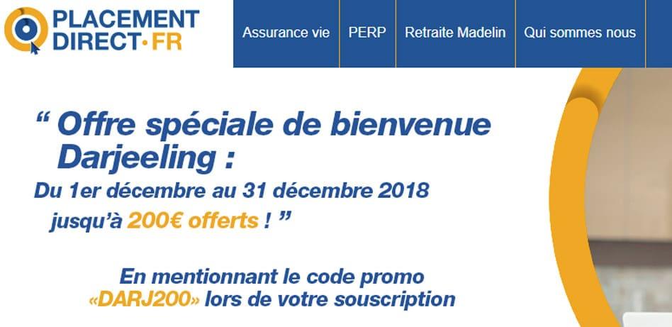 Darjeeling L Assurance Vie De Placement Direct