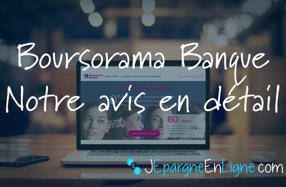 Avis Boursorama Banque