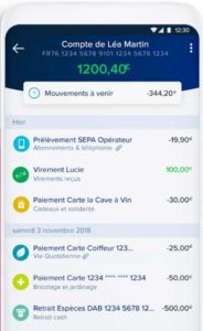 Application boursorama banque