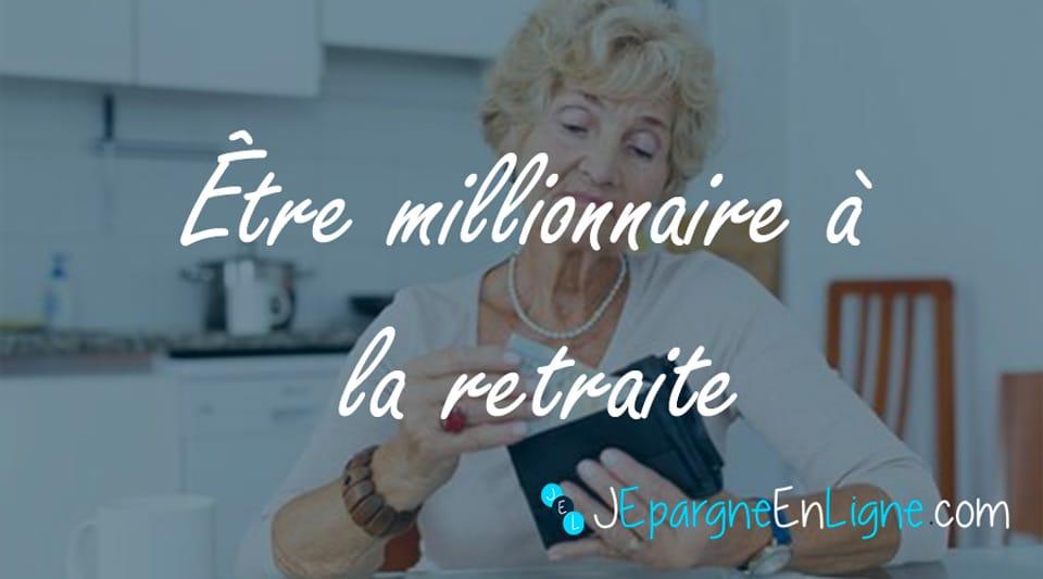 Comment épargner pour devenir millionnaire à 60 ans ?