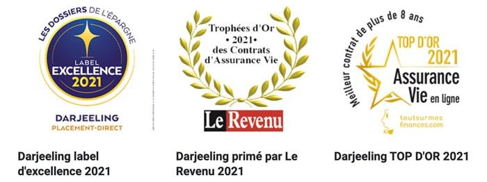 Darjeeling récompense 2021