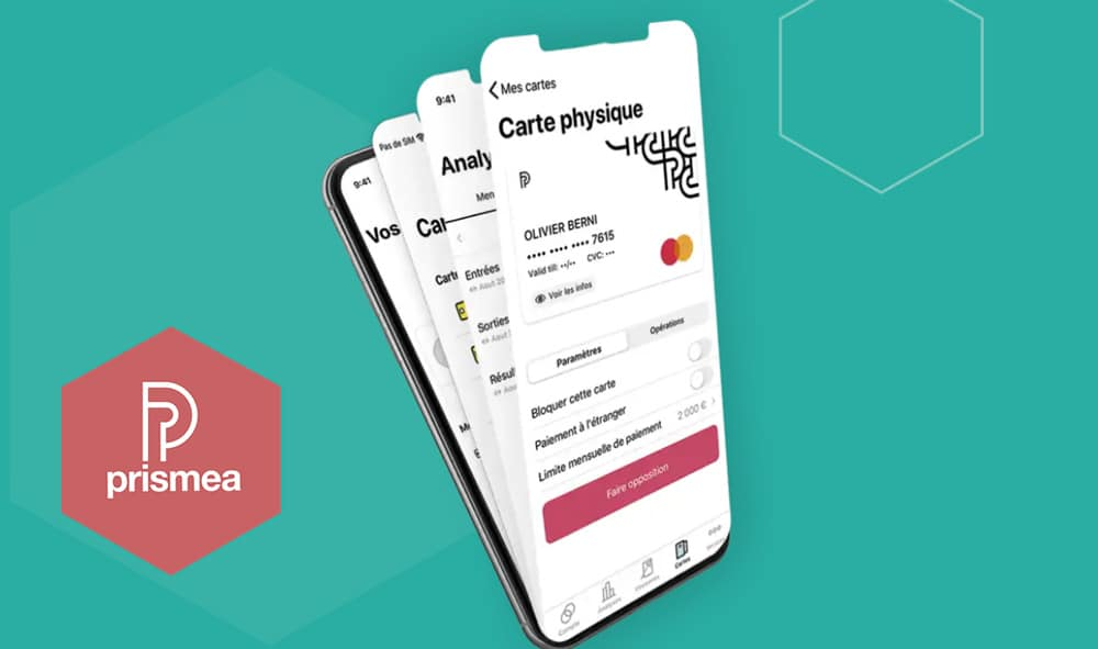 Prismea, la neobanque pro du Crédit du Nord, est officiellement lancée