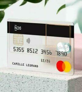 N26 smart carte