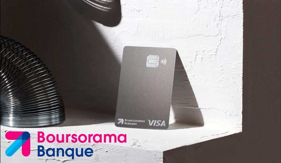 Boursorama Banque lance une carte Metal et réinvente son offre