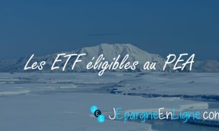 ETF éligibles au PEA : les meilleurs trackers à une fiscalité allégée