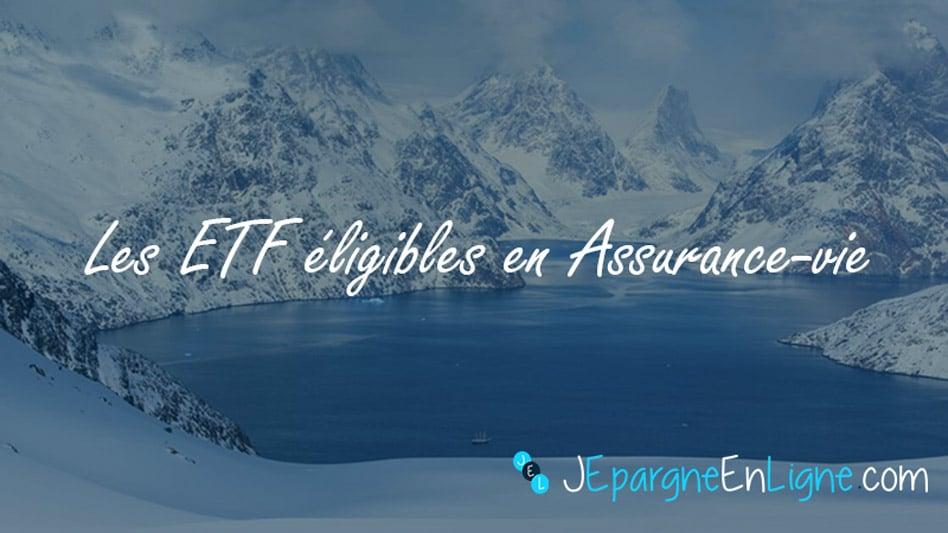 Les ETF en assurance-vie : découvrez les meilleurs trackers