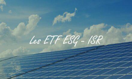 ETF ESG : investir en bourse avec des trackers label ISR