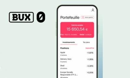 BUX : avis sur l'application pour investir en bourse
